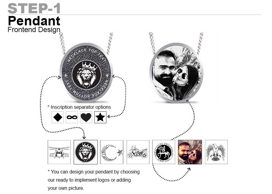 oval pendant design