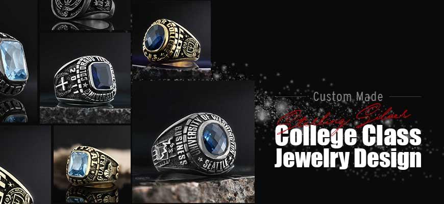 Custom Made College Class Jewelry Designs