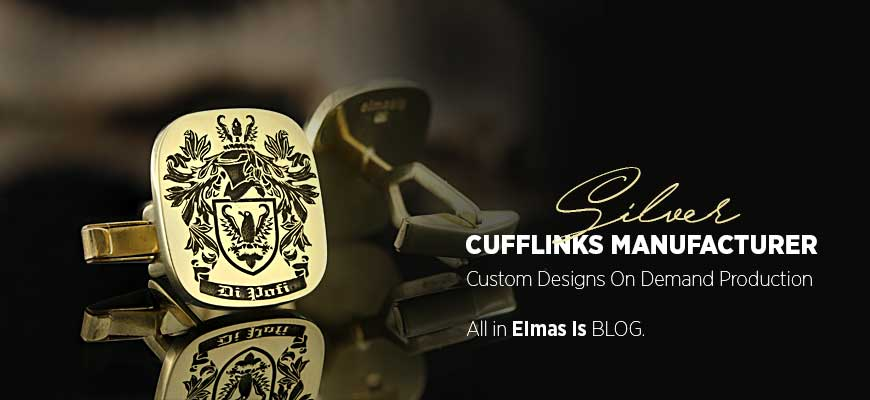 Silver Cufflinks Manufacturer