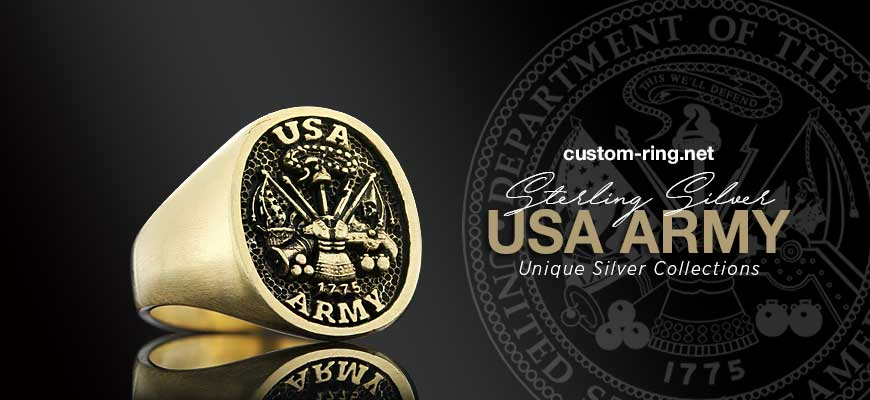 Unique Silver USA Army Collections | Custom Designs On Demand