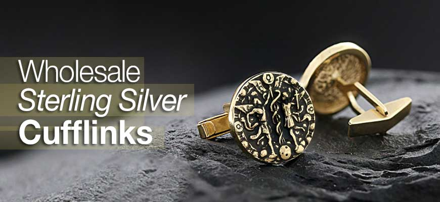Wholesale Sterling Silver Cufflinks