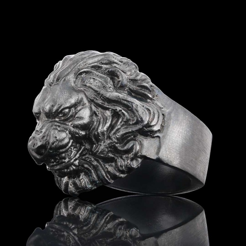 Angry Lion Ring