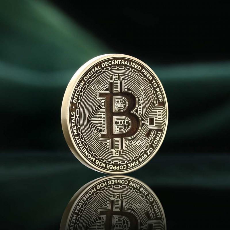 Bitcoin Souvenir Coin