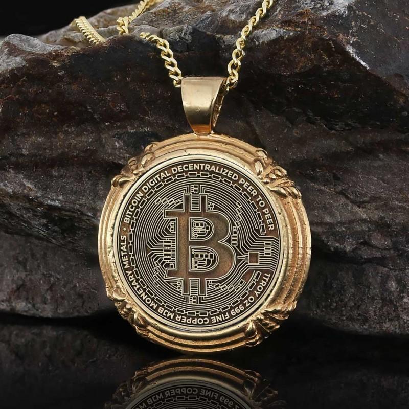 Bitcoin Souvenir Pendant