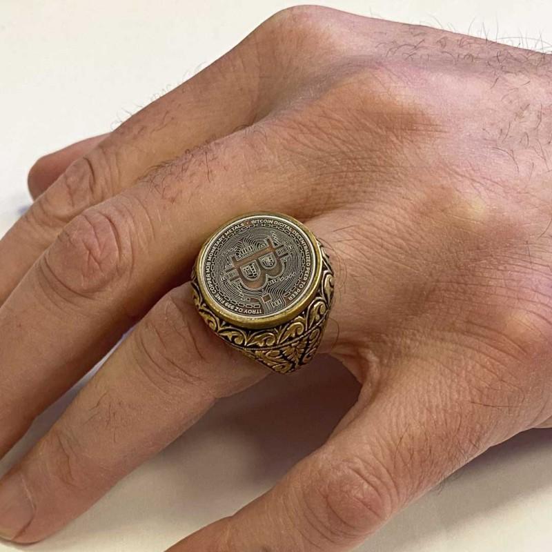 Bitcoin Souvenir Ring