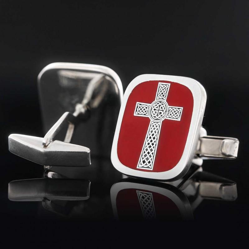 Christian Cross Cufflink
