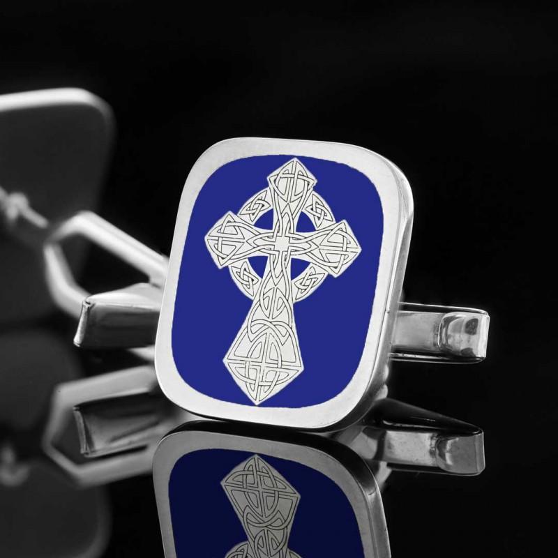 Cross Christian Cufflink