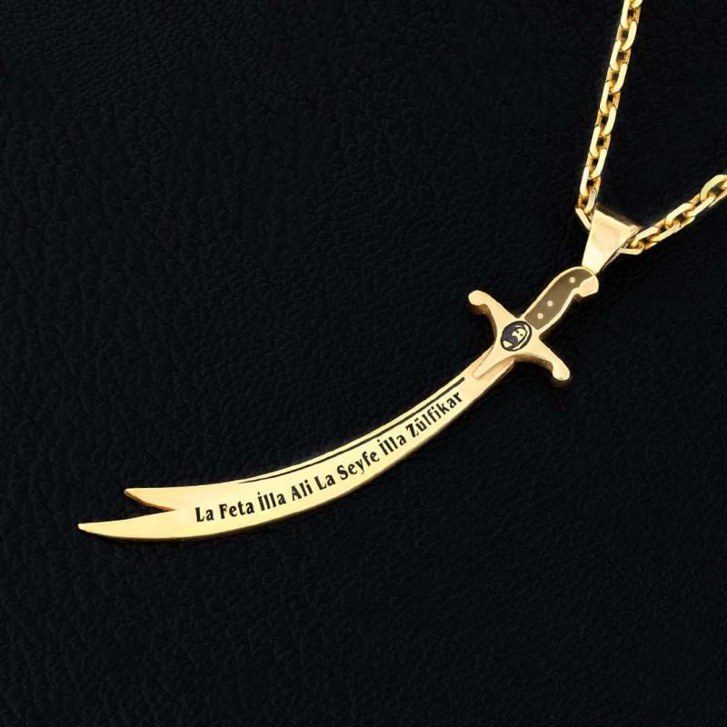 Handmade Zulfiqar Necklace