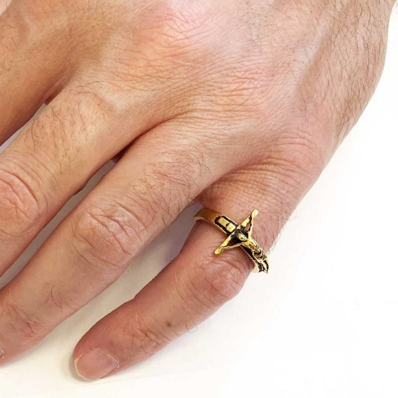 Jesus Crucified Ring