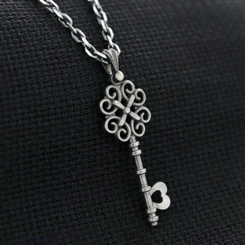 Special Motif Key Necklace