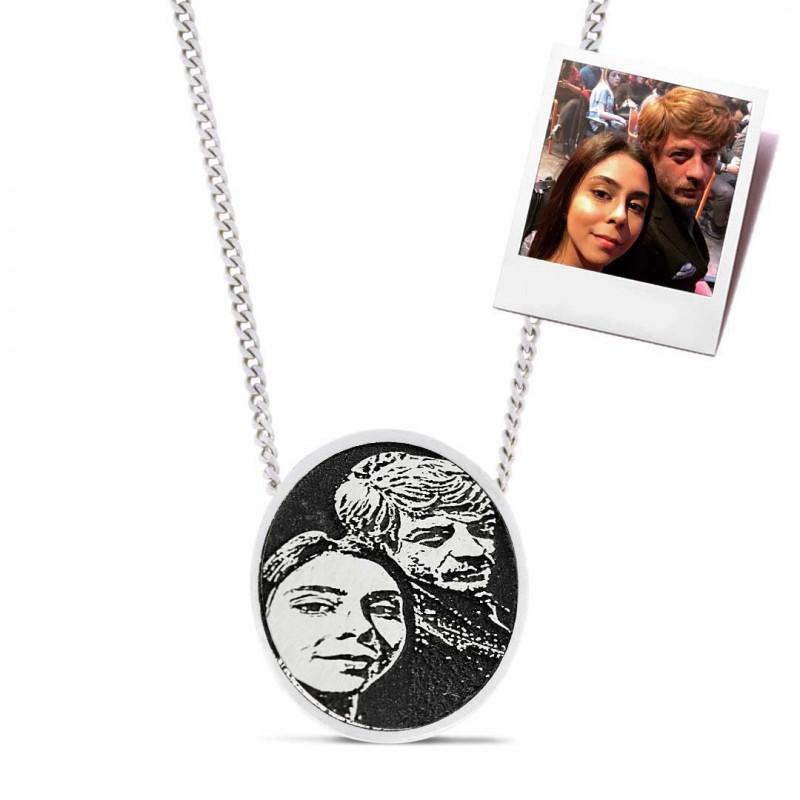 Love Photo Pendant
