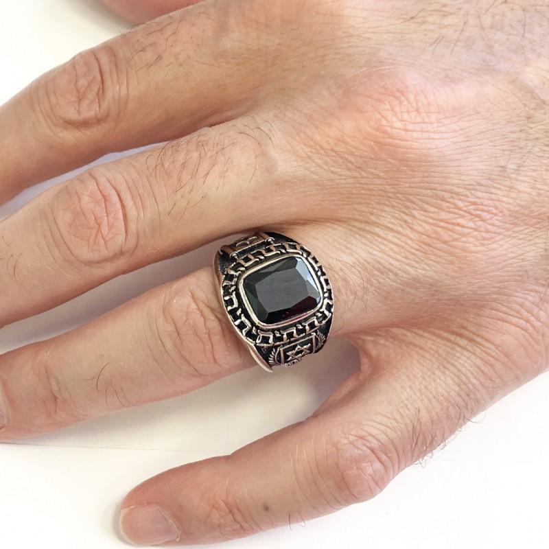 Unique Design Magen David Jewish Ring