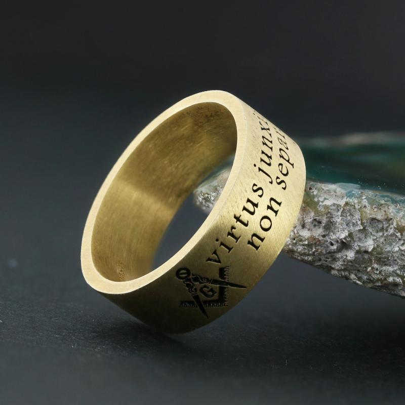 Virtus Junxit Mors Separabit Ring