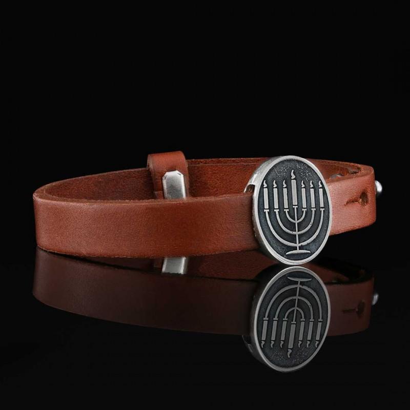 Menorah Isolated Bracelet
