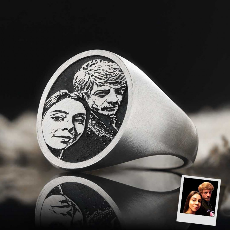 Photo Oval Ring